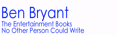 Ben Bryant Entertainment Books